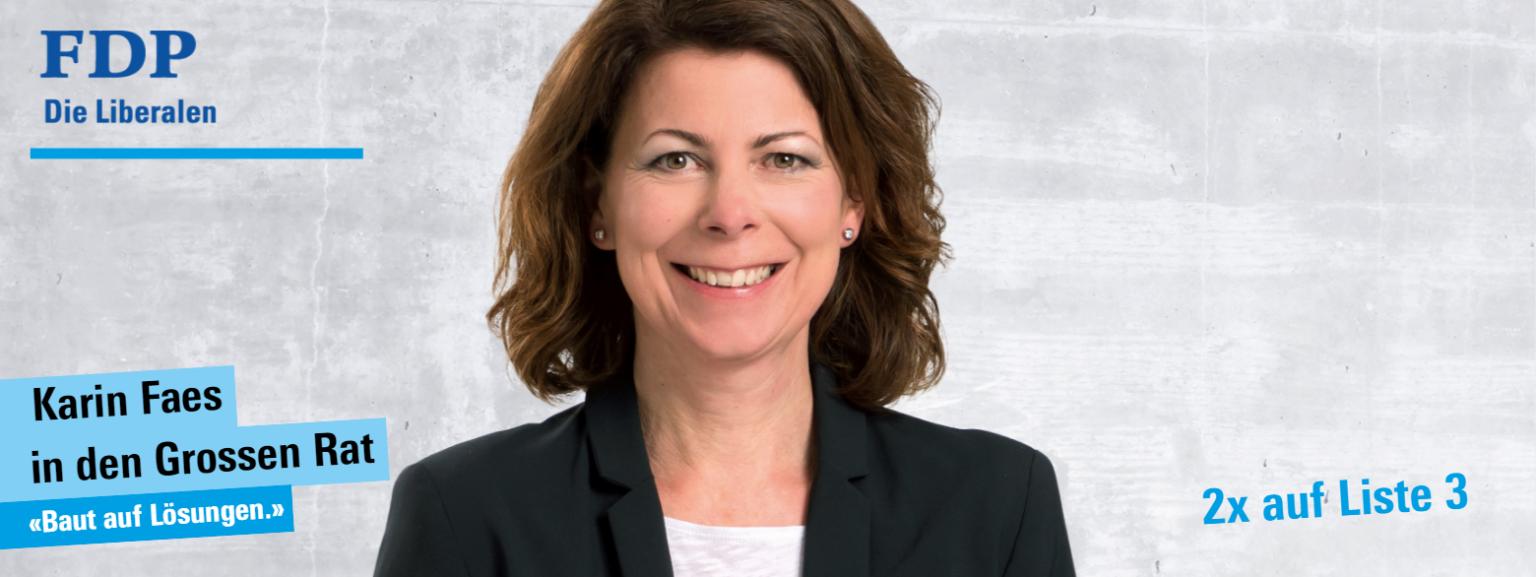Karin Faes Wahlen 2020